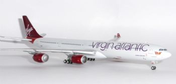 Airbus A340-600 Virgin Atlantic Airways Gemini Jets Model Scale 1:400 GJVIR1634  G-VEIL E